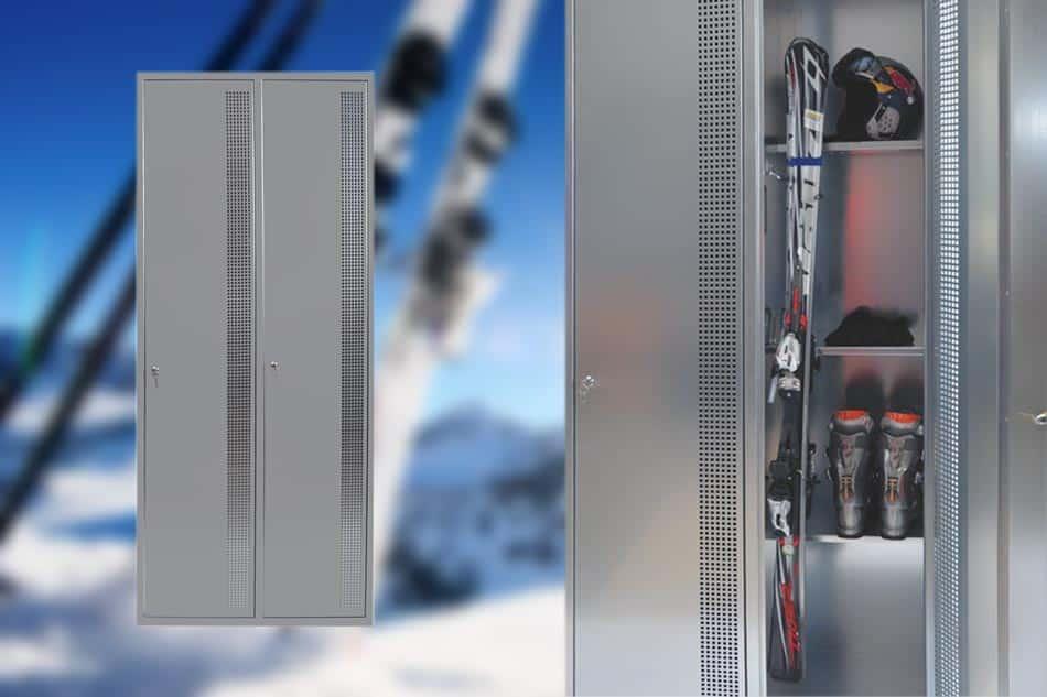 Perfekt für Ski & Co. - ski balkonschrank schweiz
